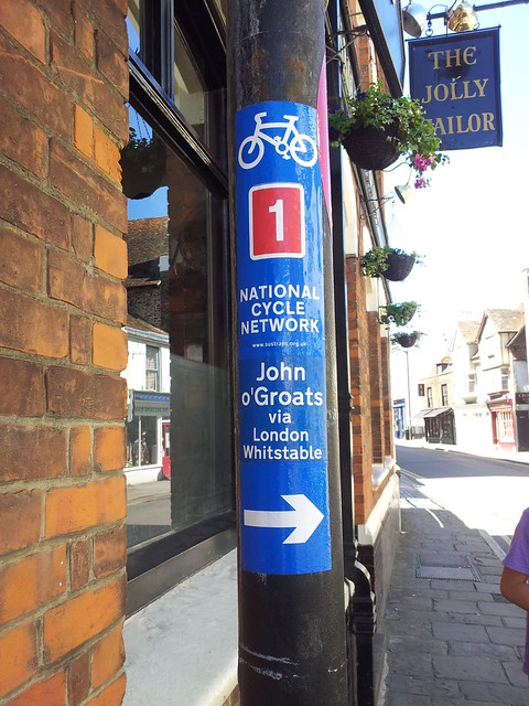 National Cycle Route 1!