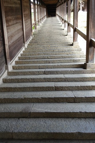 One scene in Nigatsu-do hall of Todai-ji temple 2014/06 No.1.