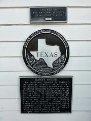 Photo of Black plaque number 24297