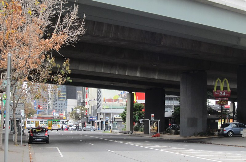 McDonalds below Westgate Freeway