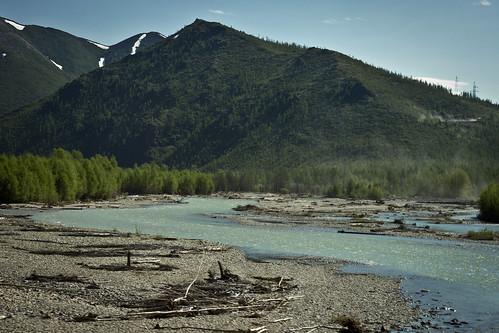 mountain river russia fareast taiga magadan galushchak taigaofjade
