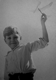 Me, aged seven, in 1949
