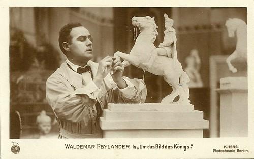 Valdemar Psilander in Um das Bild des Königs
