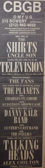 CBGB 02-23-77