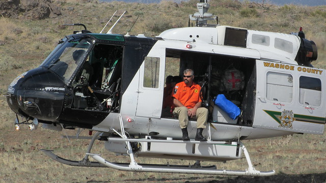 Helicopter Rescue Training with RAVEN