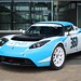 Tesla Roadster 360 by Drive eO at DNB Latvia