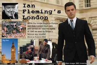 Fleming London promo card