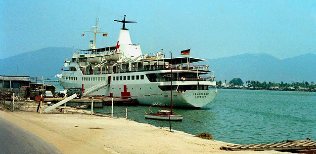 Da Nang 1970 - German Hospital Ship