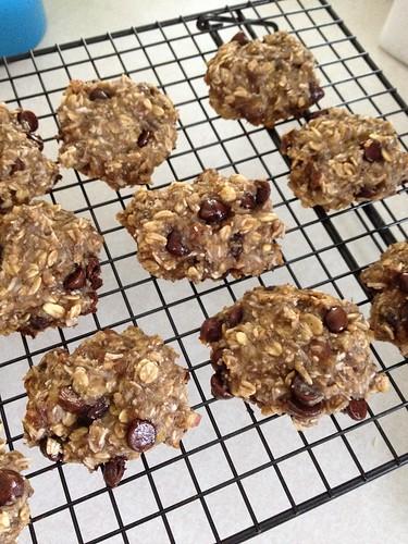 chia seed oatmeal cookies!