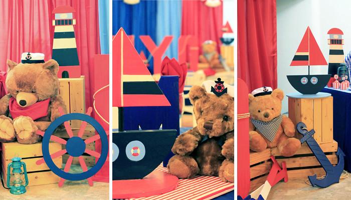 Nautical Teddy Bear Themed Party