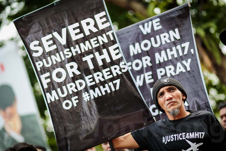 Justice for Malaysia Flight MH17 Rally ( #Justice4MH17 ) @ Kuala Lumpur, Malaysia