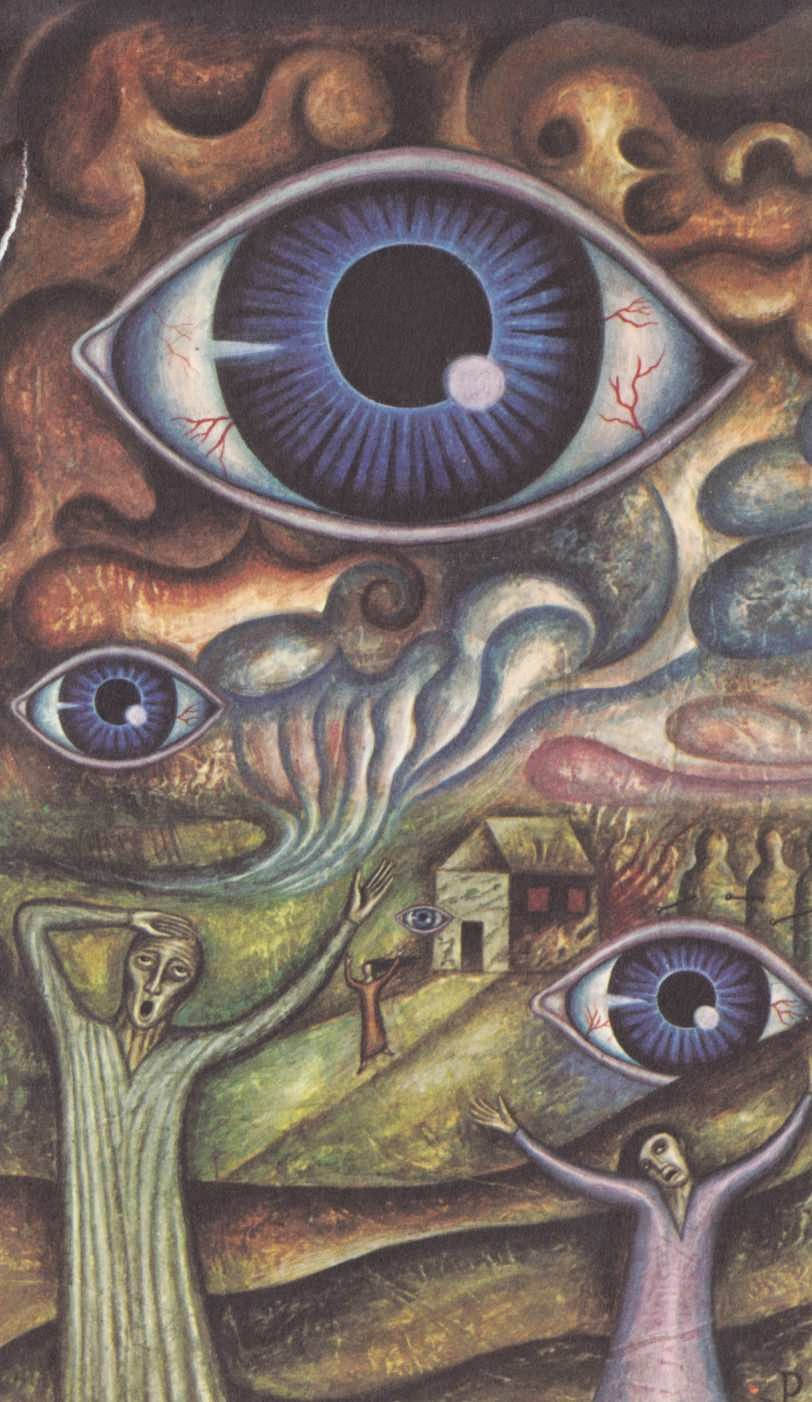 MONSTER BRAINS: Jan Parker - Paintings of Witchcraft and ...