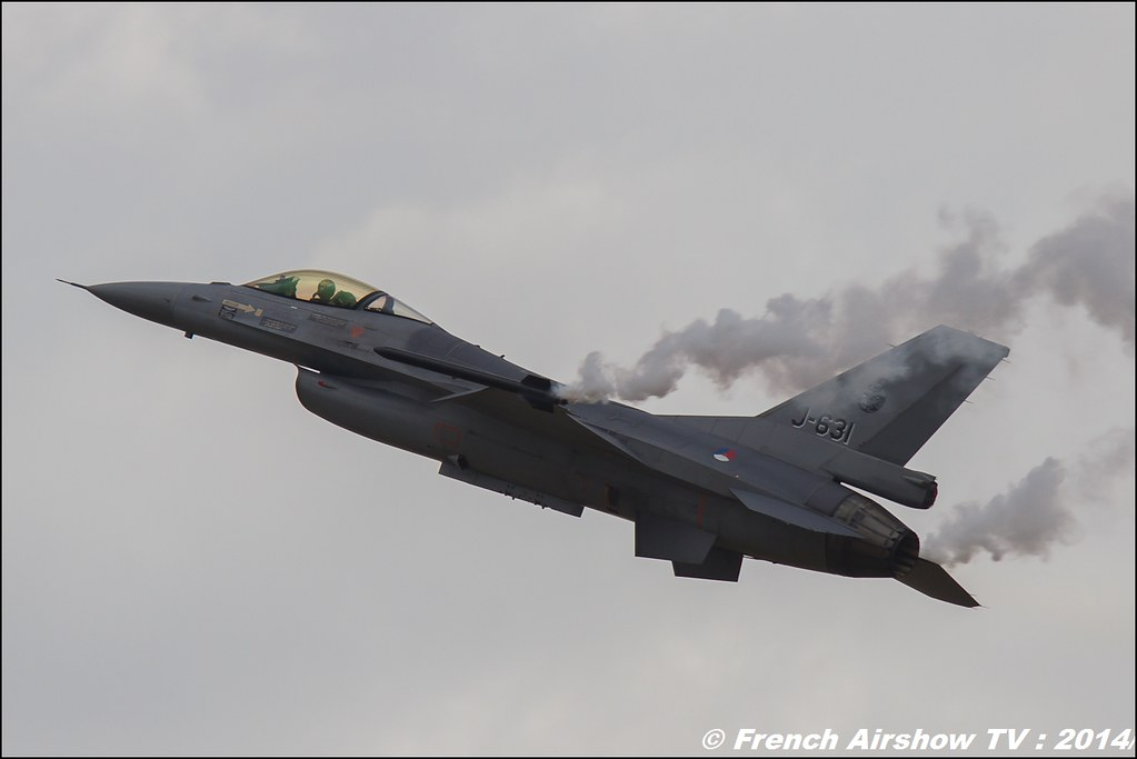 F-16 Solo Display RLNAF, BA-133 Nancy 2014