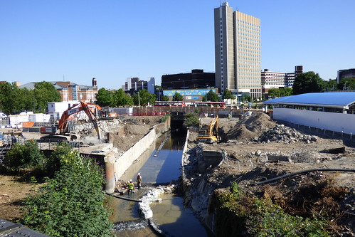 Lewisham Gateway progress 3 July 2014