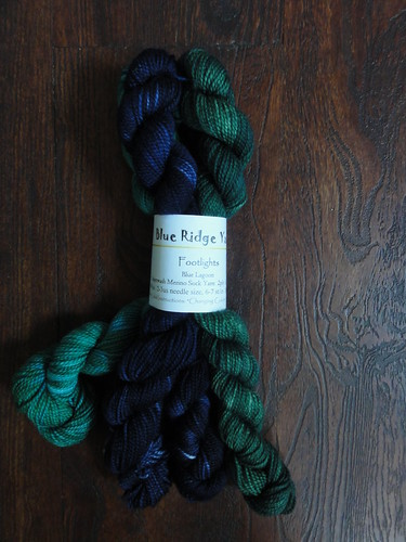 Blue Ridge Yarns Footlights in Blue Lagoon