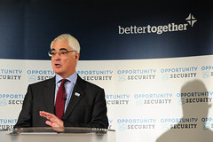 Alistair Darling press conference, January 2014