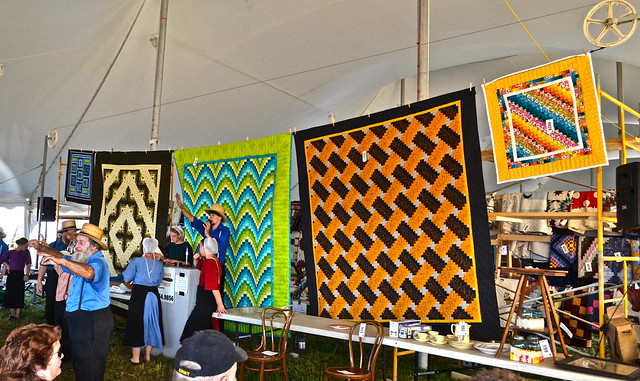 Amish Quilts at Auction - Amish Auction Lancaster County PA