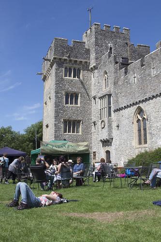 St Donats Castle at Beyond the Border Storytelling Festival 2014