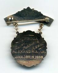 Valley Creamery medal reverse