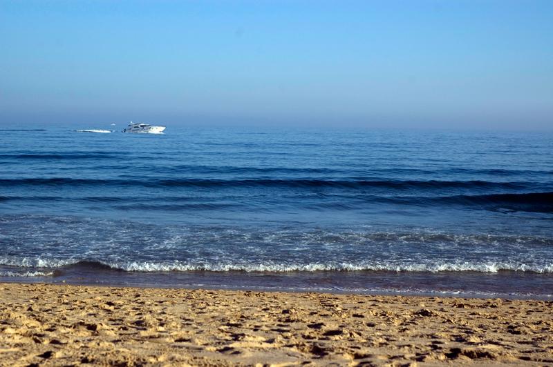 mar em Julho