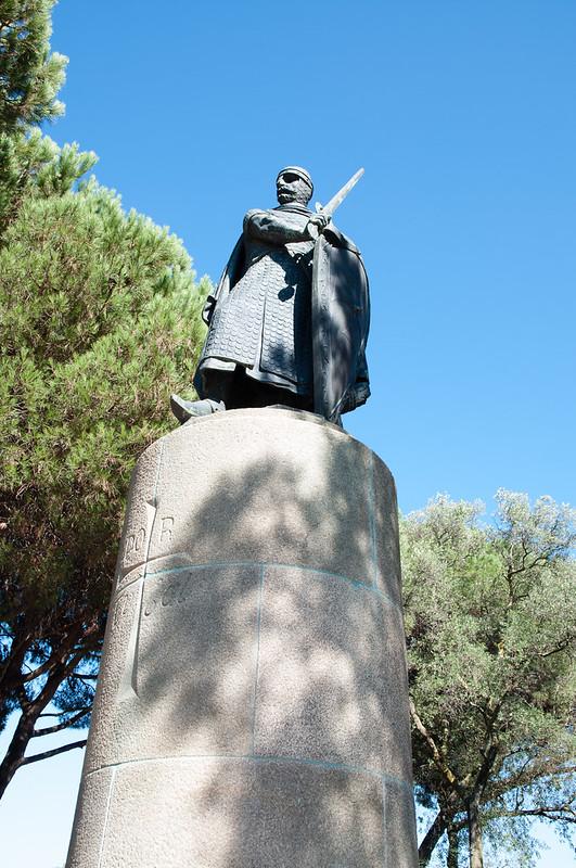 Jardín del Castillo de San Jorge