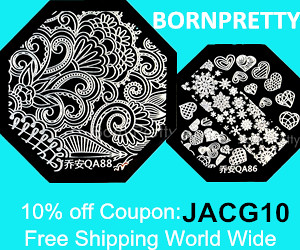 Born Pretty Store 10% off coupon code JACG10