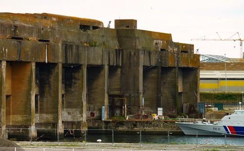 Base sous marine allemande de La Rochelle La Pallice 1940-1945