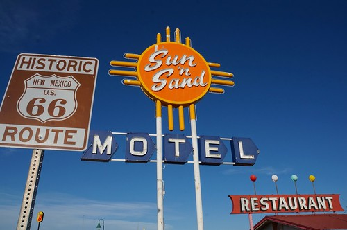 Sun n' Sand Motel - Route 66, Santa Rosa, New Mexico