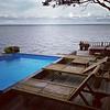 Leaving today, hopefully before the rain. It's been fun! #FireIsland #NewYork #poolside #ocean #HotTub
