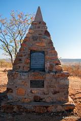Dorsland Trekker memorial and graves