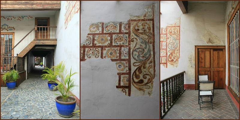 Casona Deza courtyard