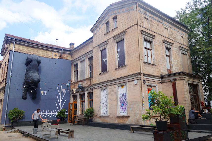 Kanepes cultural center Riga 1
