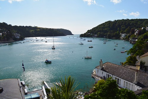View from Dartmouth out to sea