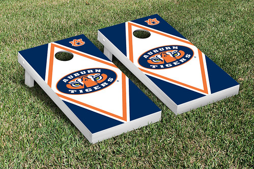 Auburn University Tigers Cornhole Game Set Diamond