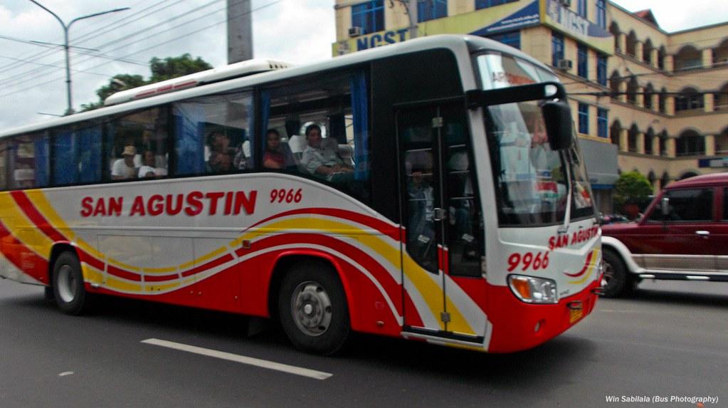 San Agustin 9966 (New bus units Grandeza)