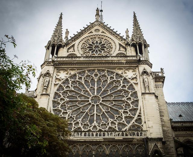 Notre Dame Exterior Views