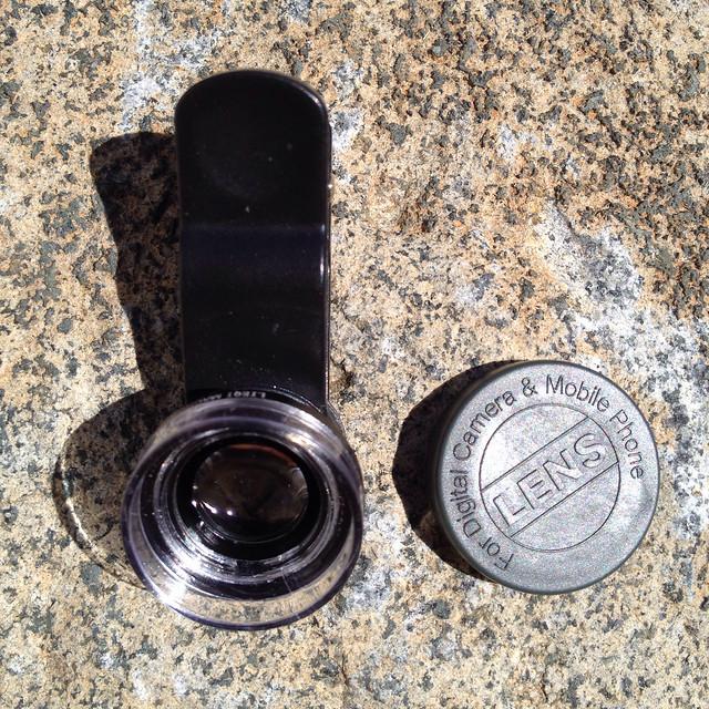 Cloth-Clip 6X Macro Scope (Microscope / Close-up) Lens for iPhone / iPad / Camera Phones