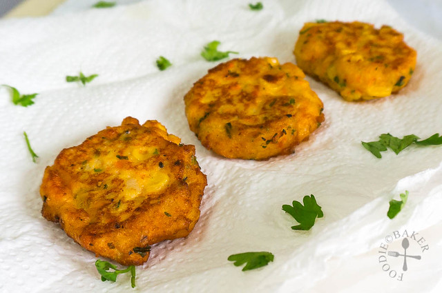 Potato and Corn Fritters
