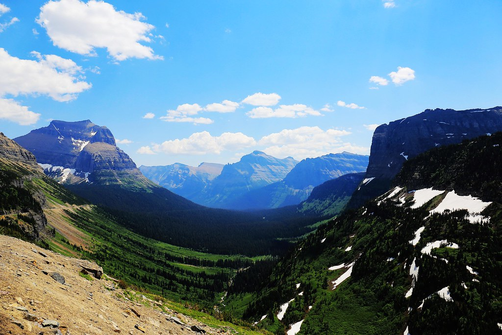 U-shaped valley   Glacier National Park, MT   Lue Huang   Flickr