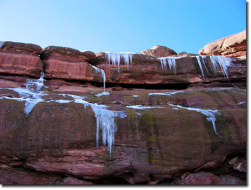 Icicle (Taken at Red Rocks Park and Amphitheatre)
