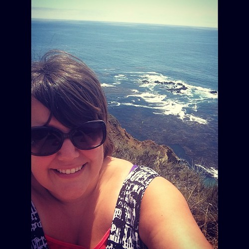 Sorry not sorry for all the selfies. Yesterday I stood on the edge of the world. #highway1 #kategoestocalifornia