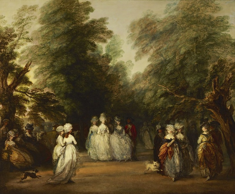 Thomas Gainsborough - The Mall in St. James's Park (c.1783)