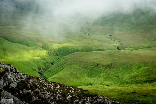 ireland mountain galway landscape hike ie ierland letterfrack diamondhill