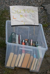 Books by the roadside