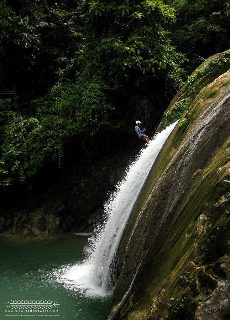 waterfalls rappelling danasan eco-adventure park danao city cebu