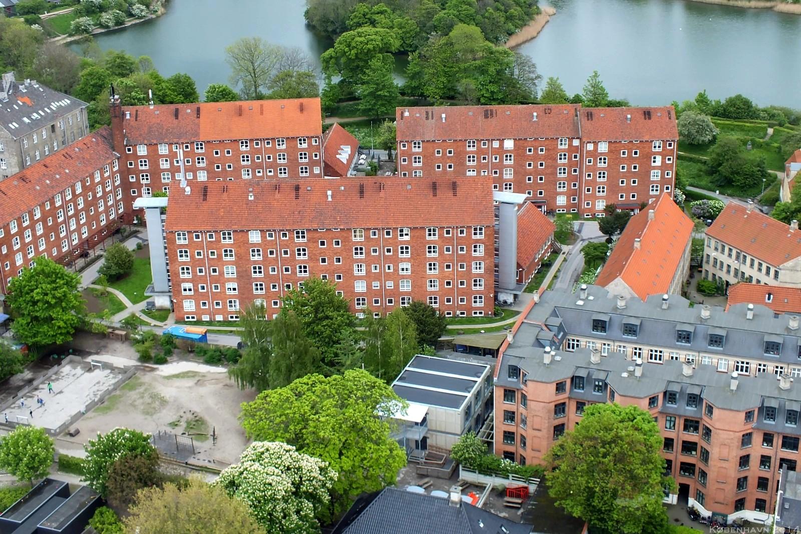 View from Vor Frelsers Kirke, København, Denmark