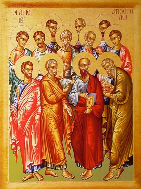 cei 12 Sfinti Apostoli