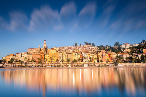 seascape sunrise french riviera filter lanscape menton nisi fstopper