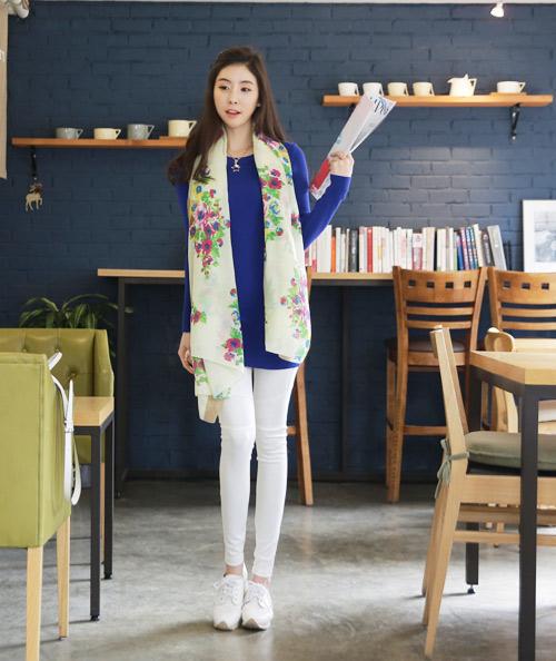 Cách quàng khăn ĐẸP như Hàn Quốc cho Nam/Nữ mà đơn giản 2