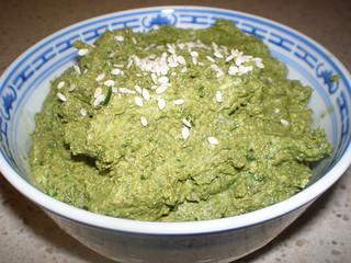 Creamy Spinach-Tahini Dip